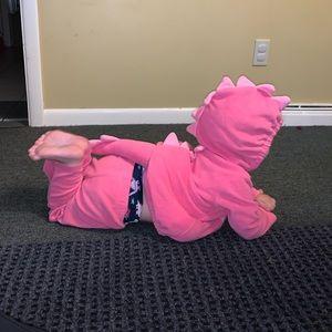 Pink Dinosaur Costume
